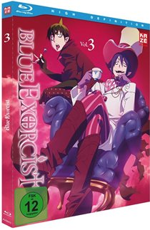 blue exorcist volume3