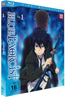 blue exorcist volume1