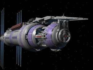 Babylon 5 - im Hintergrund Epsilon 3